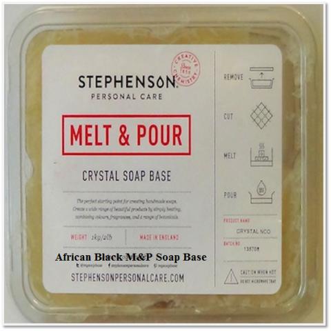 CRYSTAL AFRICAN BLACK SOAP